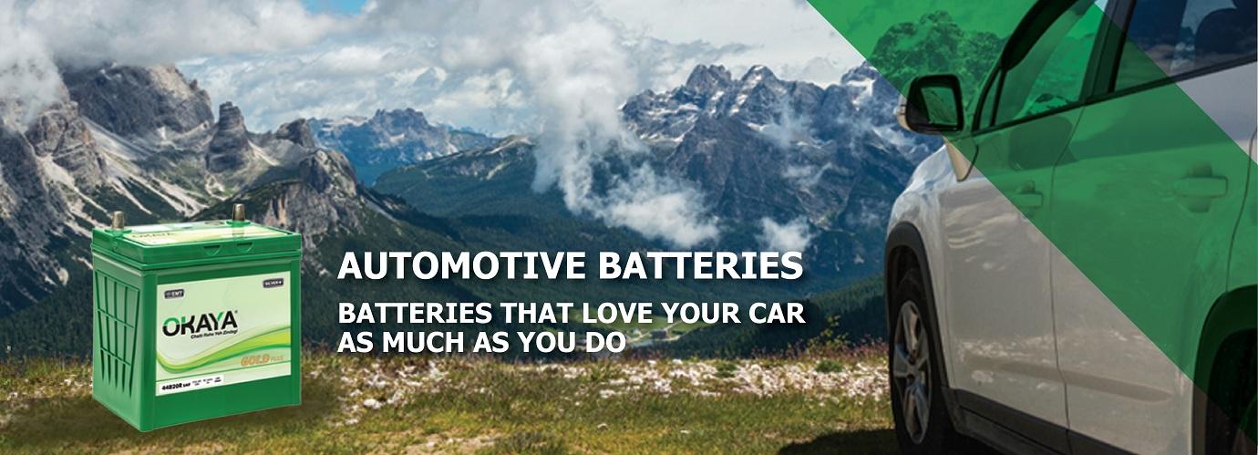 Auto Battery,  Best Car Battery – Okaya Power