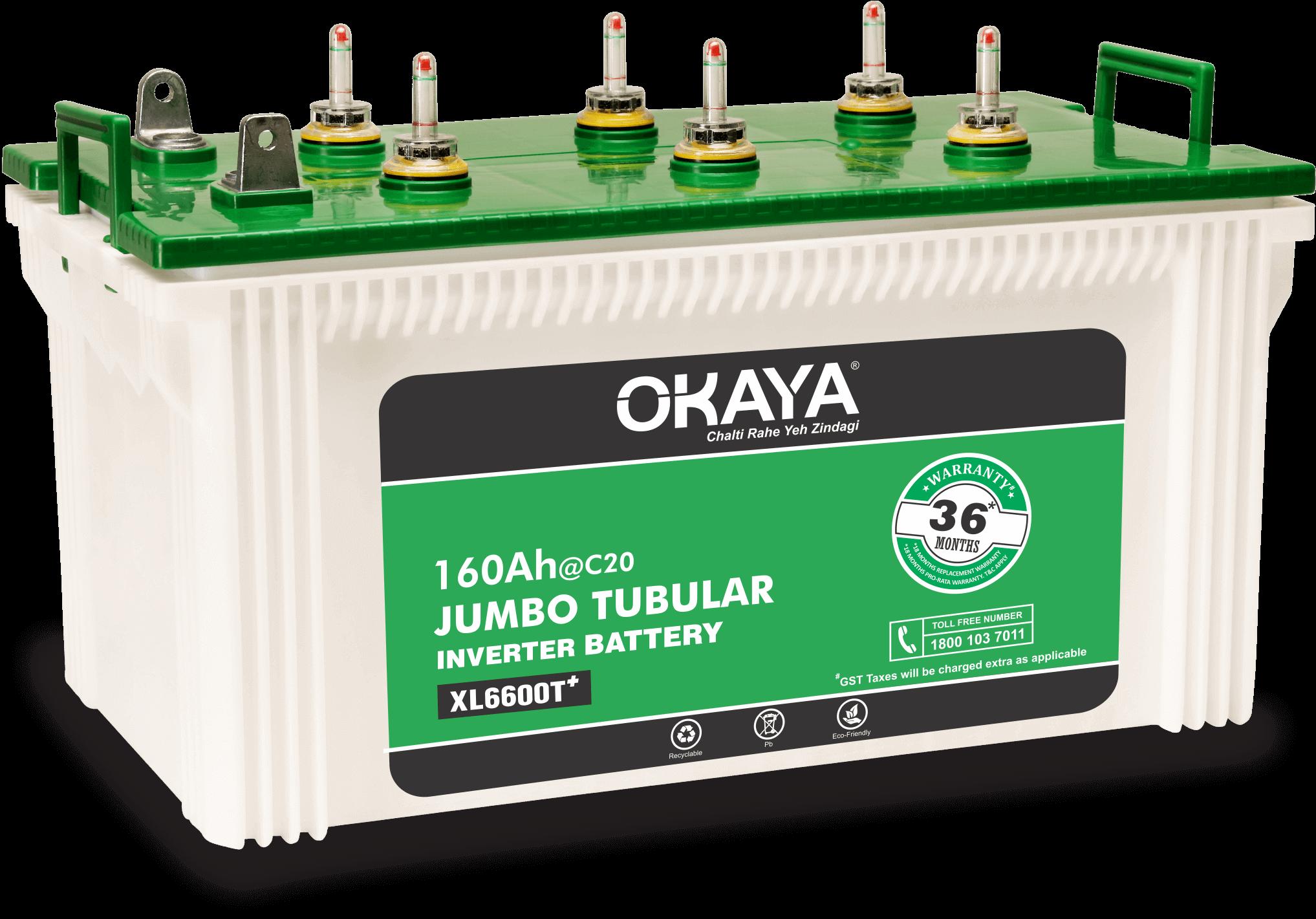 Okaya Inverter Batteries - Okaya Power